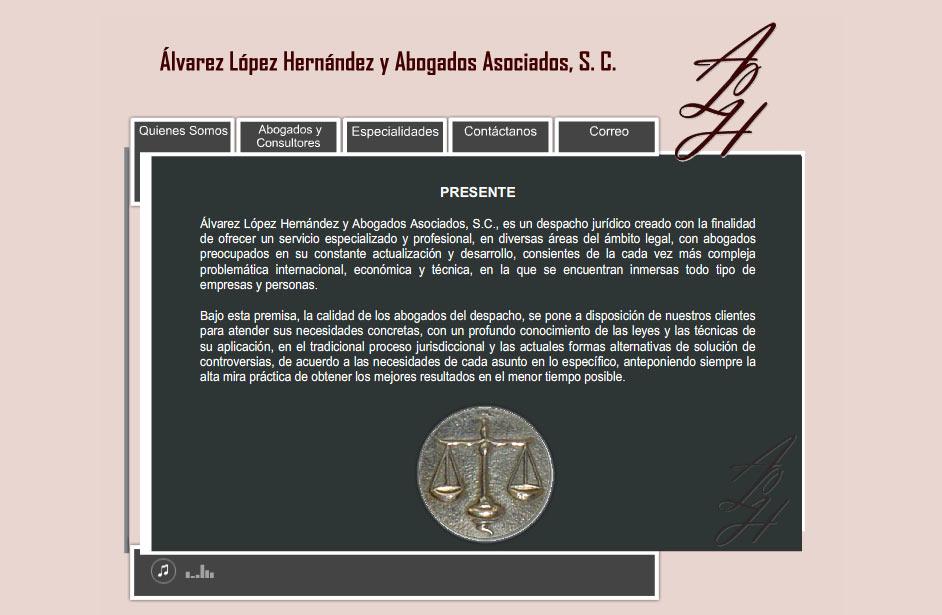 Álvarez López Hernández Abogados Asociados Nosotros