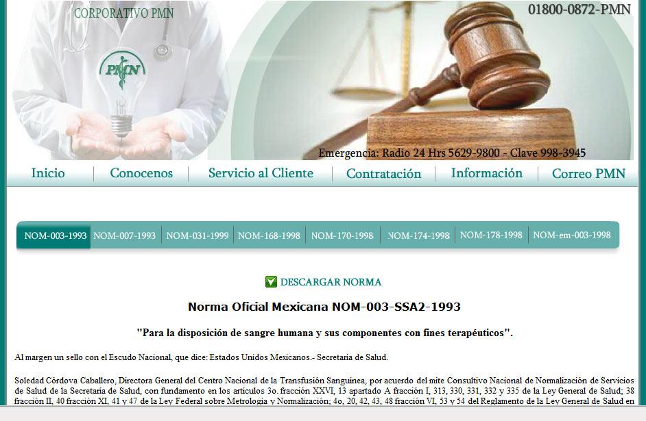 Corporativo PMN Normas Oficiales