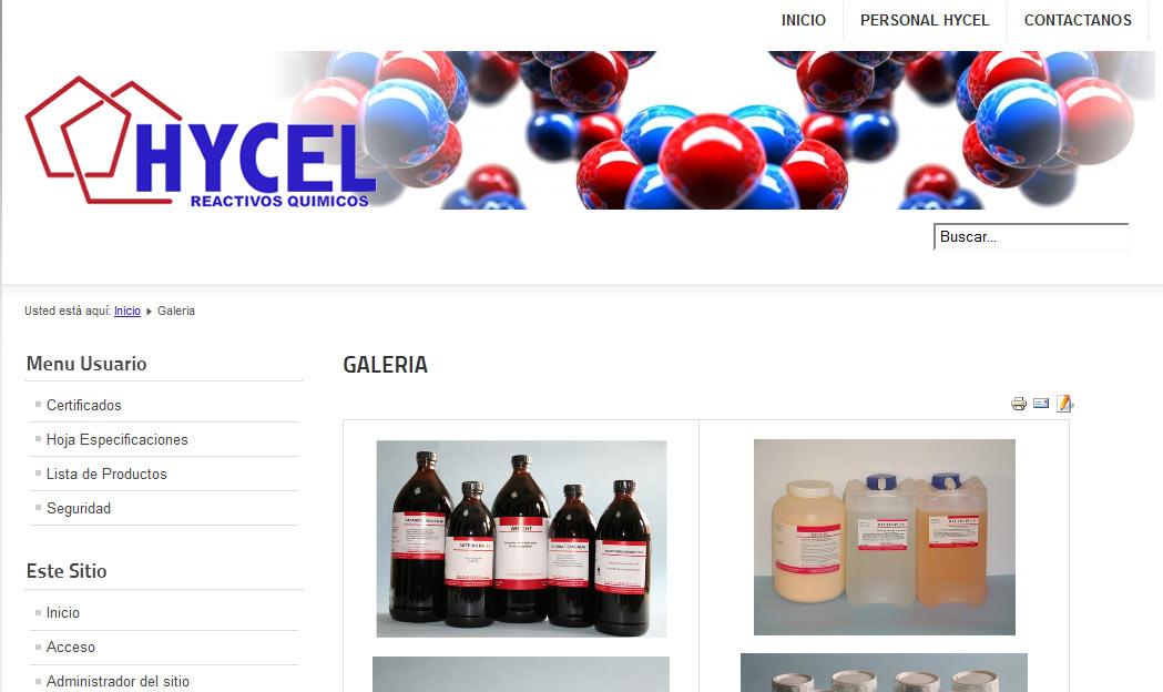 hycel galeria de productos