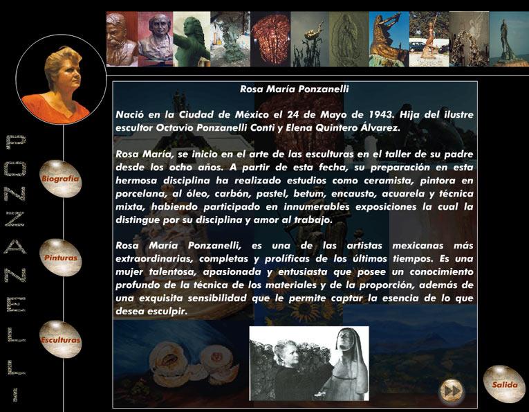 Rosa Maria Ponzanelli Biografia